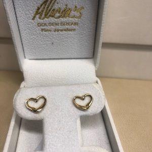 Tiffany Heart Earrings's by Elsa Peretti